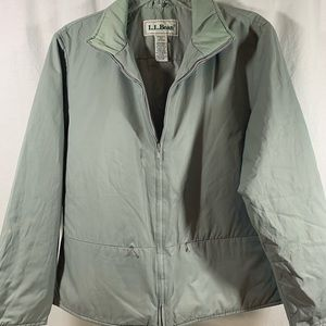 L.L. Bean Olive Women's Lined Jacket